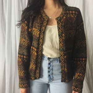 Sweaters - soft alpaca wool cardigan